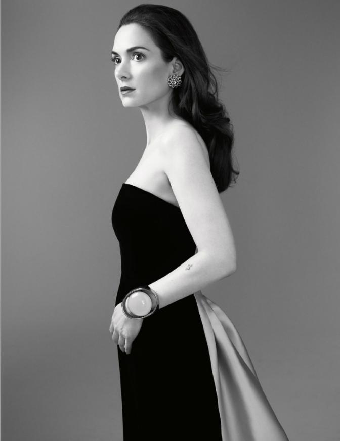 Winona Ryder, by Gavin Bond, for Citizen K Summer 2013