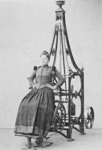 Zanders medico-mechanical gymnastics equipment, 1890s
