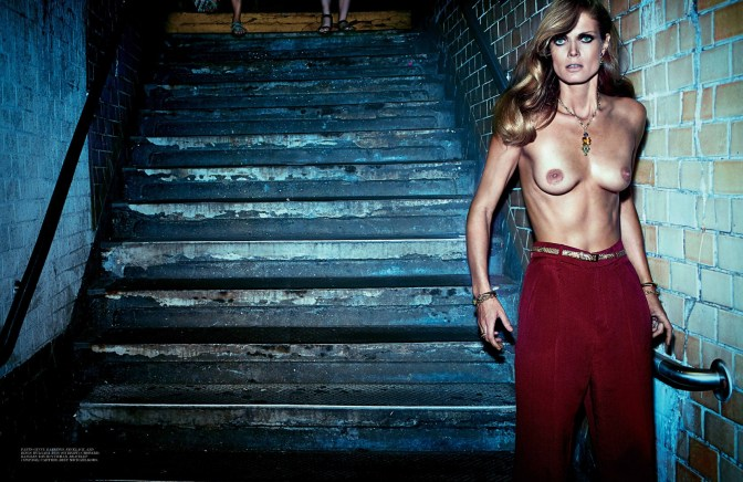 Grace Undone, Malgosia Bela, by Steven Klein, Interview November 2013
